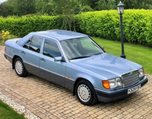 1991 Mercedes-Benz 260E Auto W124 - 36,500 Miles For Sale