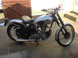1948 BSA ZB32GS in competition trim. For Sale