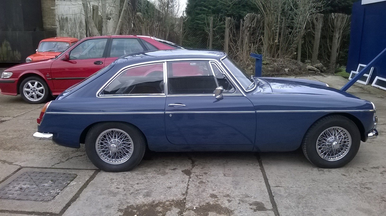 1967 Mk1 MGB GT- largely original with proof of mileage For Sale (picture 1 of 6)