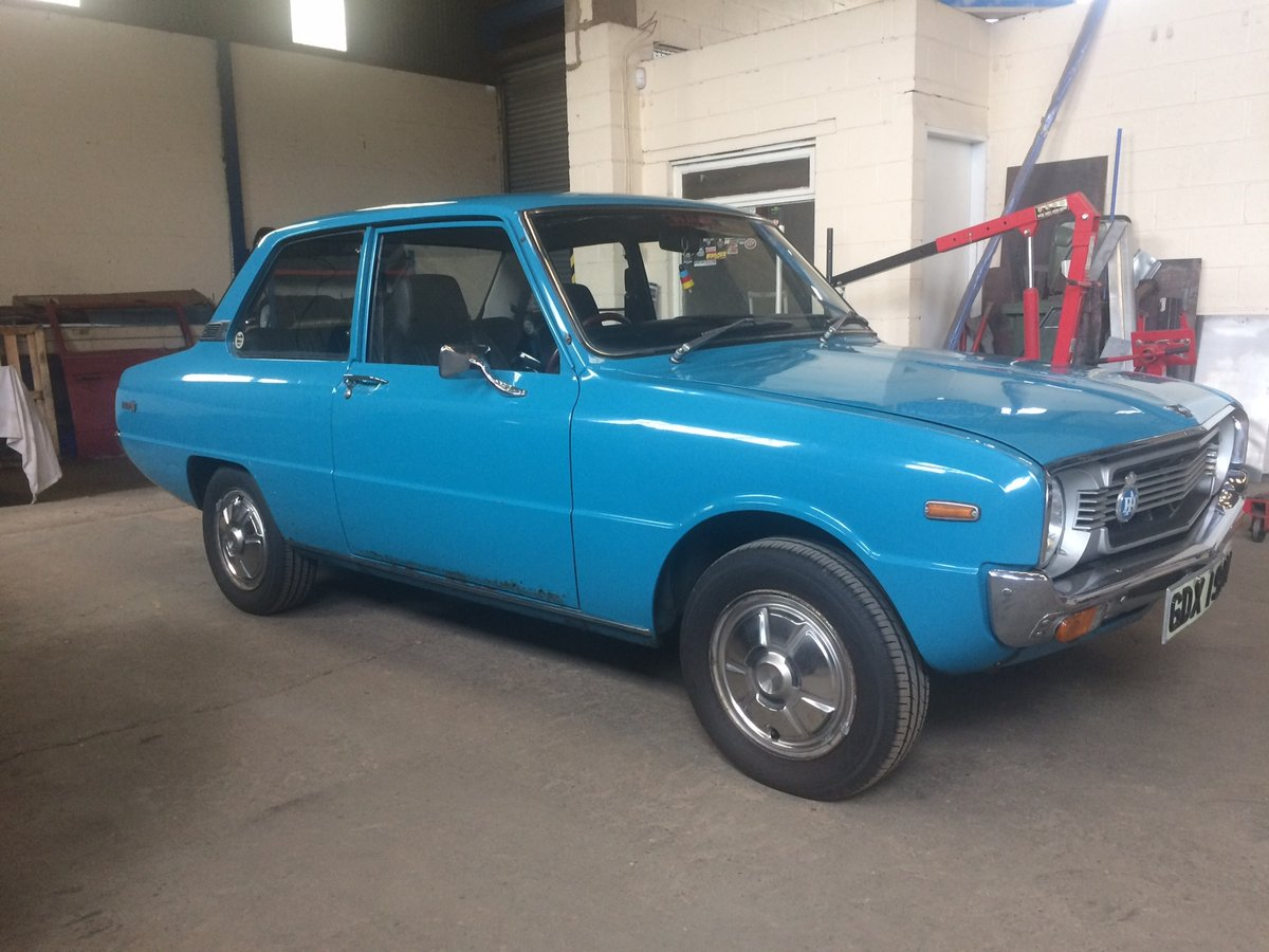 Mazda 1000 1974 original unrestored 14000 from new For Sale (picture 2 of 6)