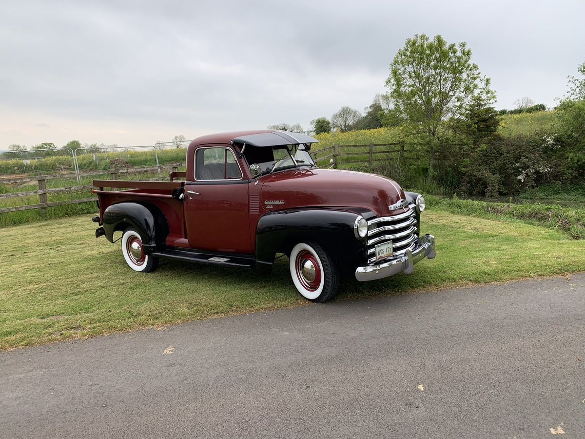 1952 Chevy 3100 Truck stock. For Sale (picture 2 of 6)