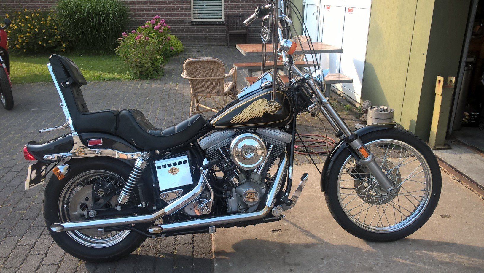 harley davidson FXWG 1985 SOLD | Car And Classic