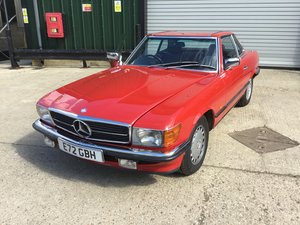 1987 Exceptional Mercedes-Benz 420 SL R107