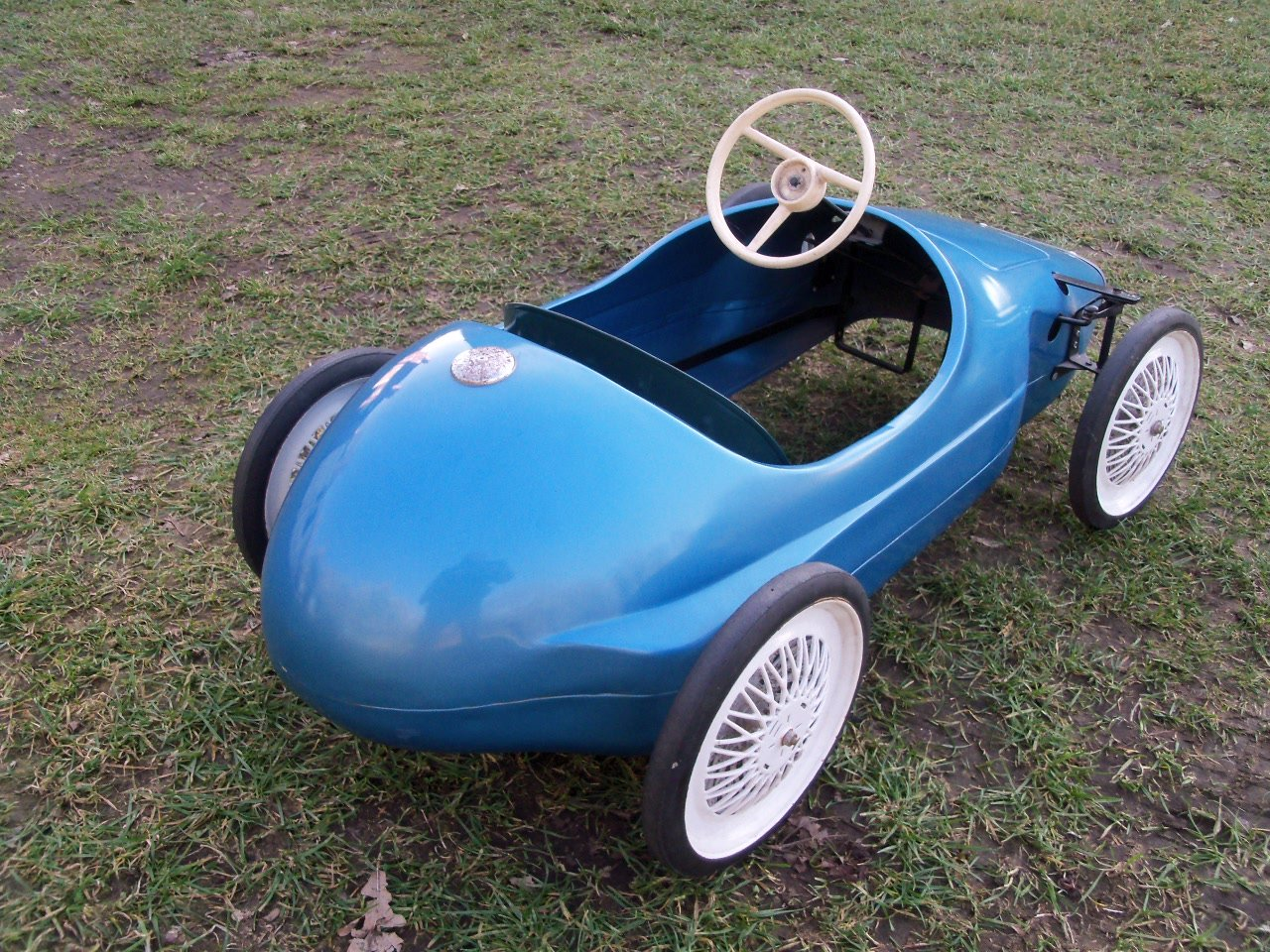 Triang Vanwall Pedal Car For Sale (picture 4 of 6)