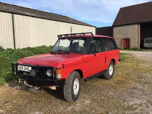 Range Rover Classic 1972 Suffix A 300 tdi For Sale