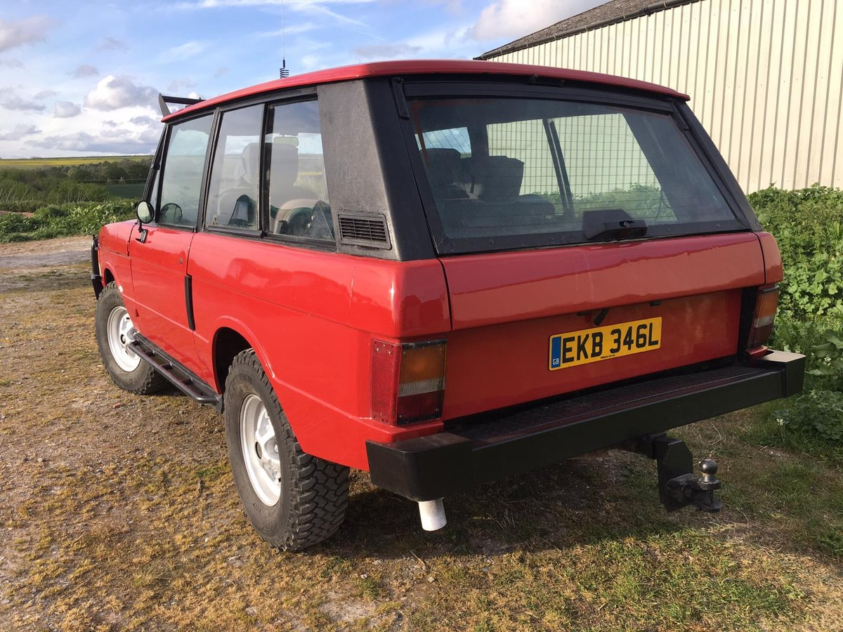Range Rover Classic 1972 Suffix A 300 tdi For Sale (picture 2 of 6)