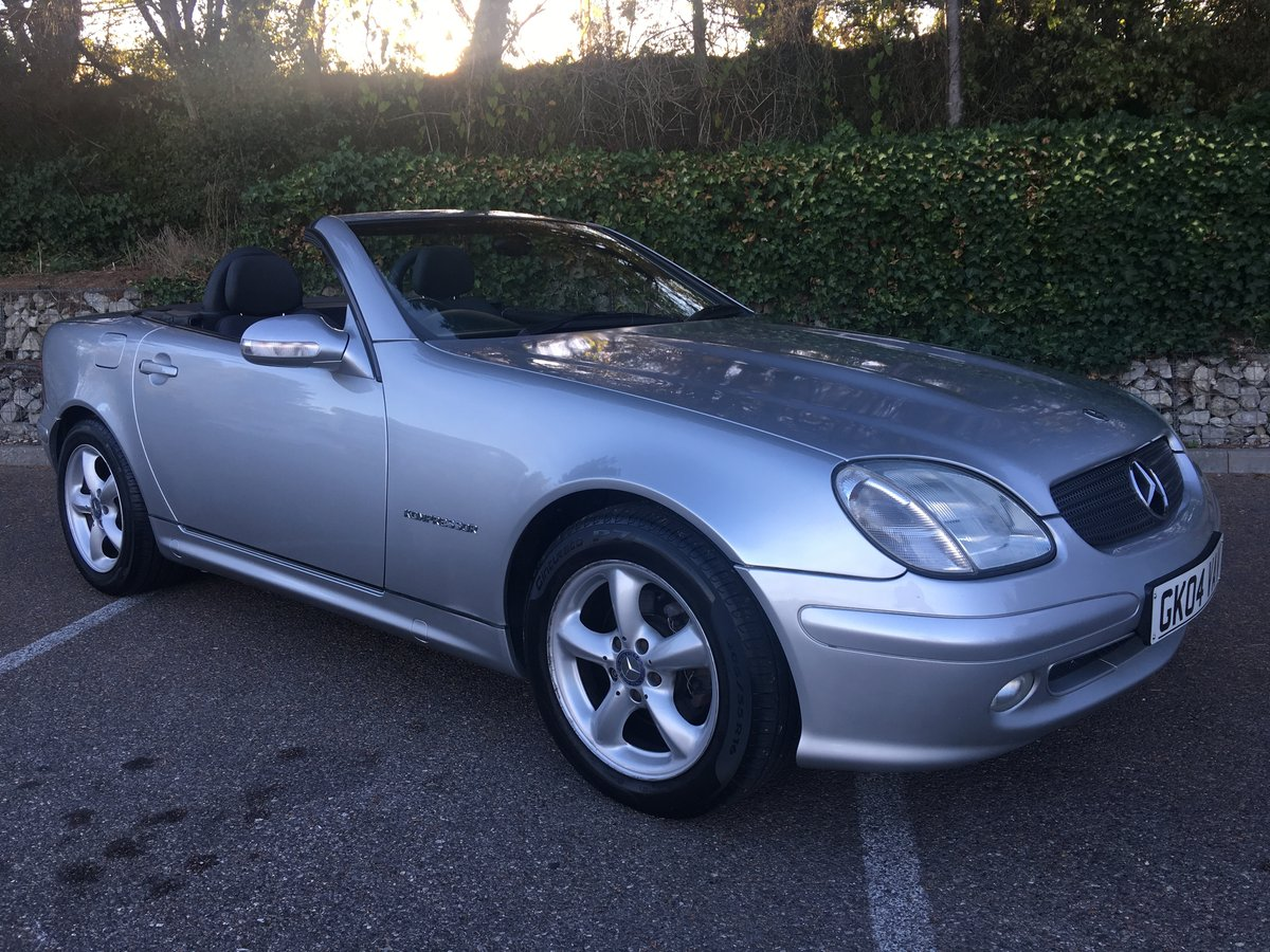 2004 Mercedes-Benz SLK FMBSH For Sale (picture 1 of 1)