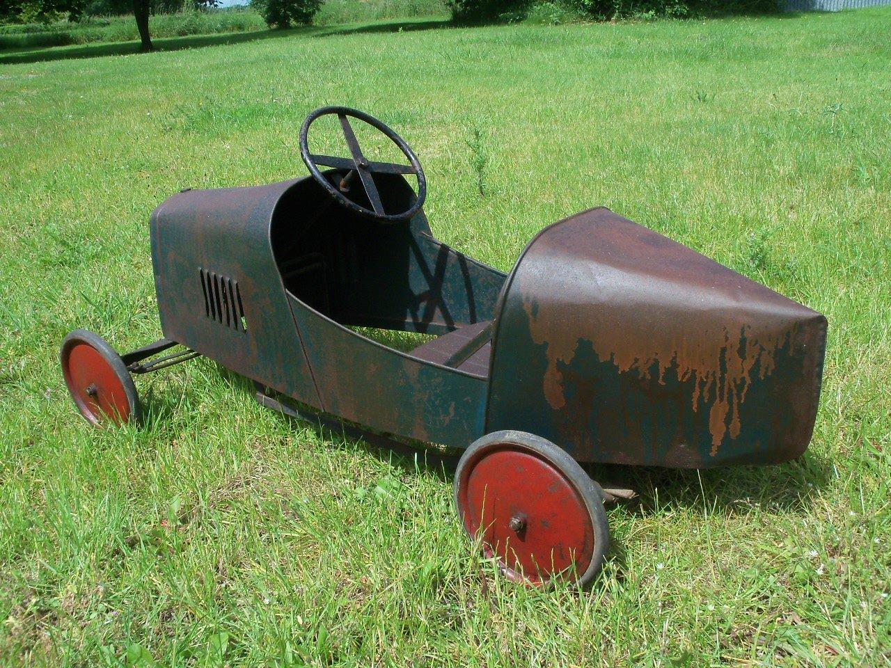 Bugatti Pedal Car (1930's) Superb  SOLD (picture 3 of 6)
