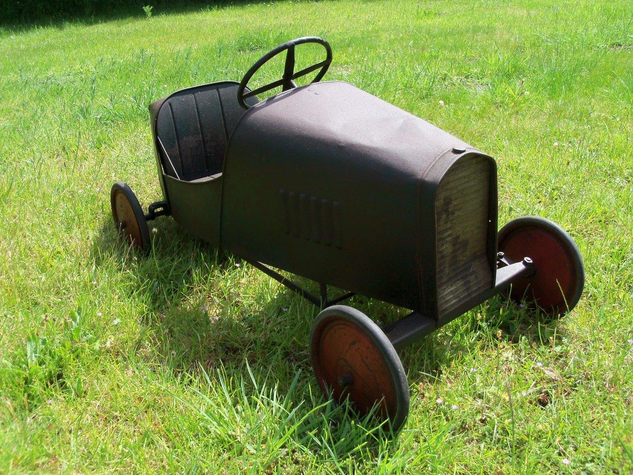 Bugatti Pedal Car (1930's) Superb  SOLD (picture 6 of 6)
