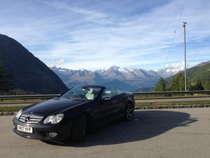2007 Mercedes SL350 Convertible, full service history For Sale