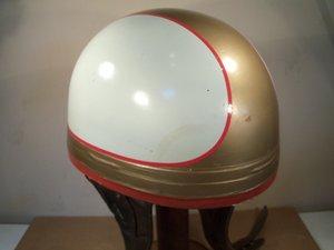 Vintage Motorcycle Crash Helmet For Sale