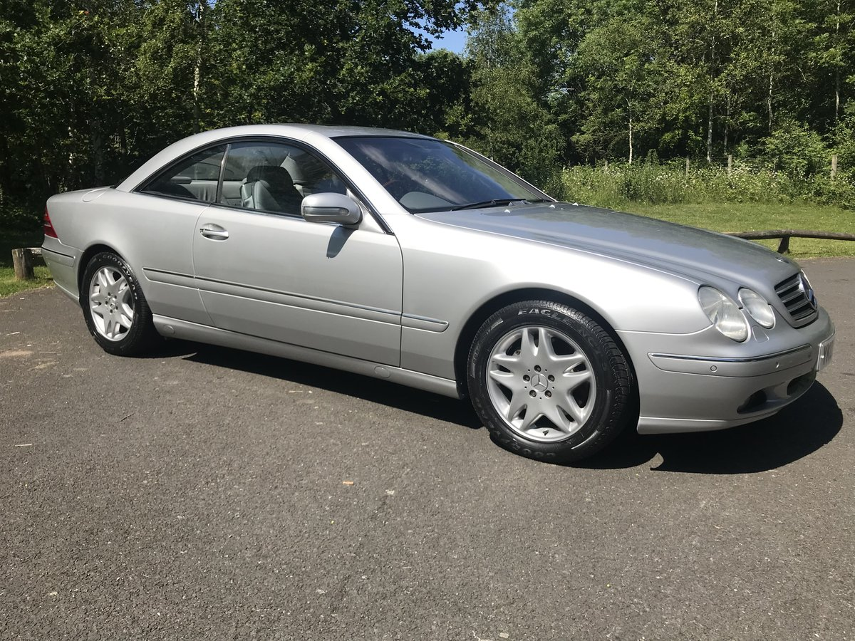 2002 Mercedes-Benz CL500 Exceptional Example For Sale (picture 1 of 6)