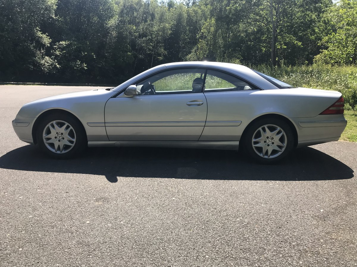2002 Mercedes-Benz CL500 Exceptional Example For Sale (picture 4 of 6)