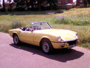 1972 Triumph Spitfire MK4 - Drives like new For Sale