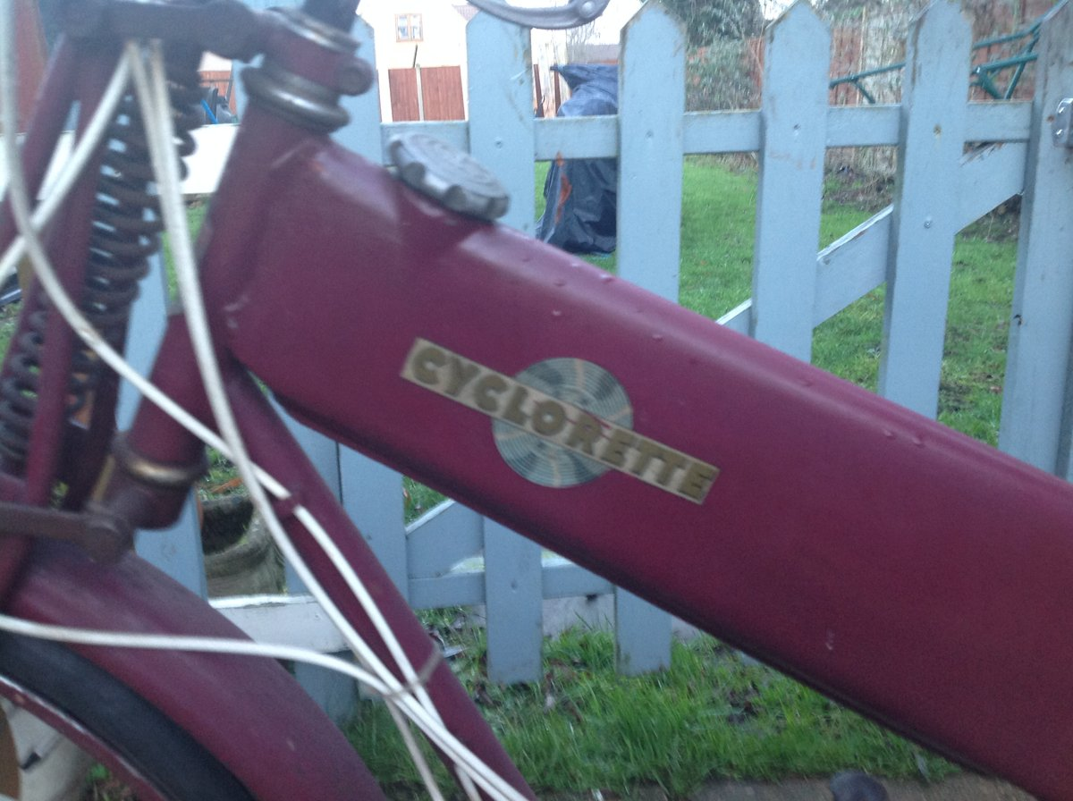 1940 Cyclorette For Sale (picture 3 of 4)
