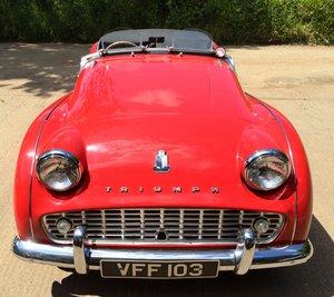 Triumph Tr3a 1961 For Sale