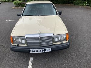 1987 Mercedes - Investment opportunity for Collectors