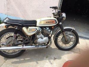 1971 Kawasaki Avenger 350