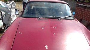 1968 Lotus Elan + 2 for restoration. For Sale