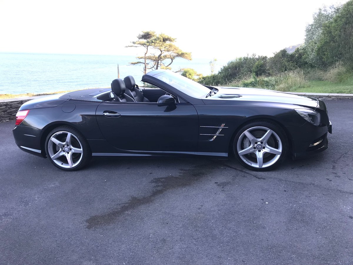 2013 SL500 V8 in superb condition SOLD (picture 1 of 6)