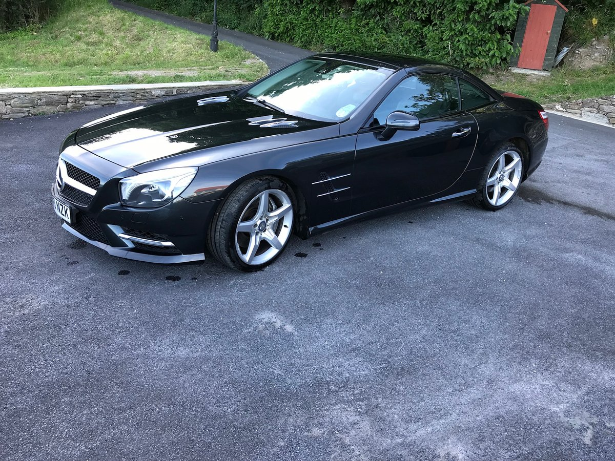 2013 SL500 V8 in superb condition SOLD (picture 2 of 6)