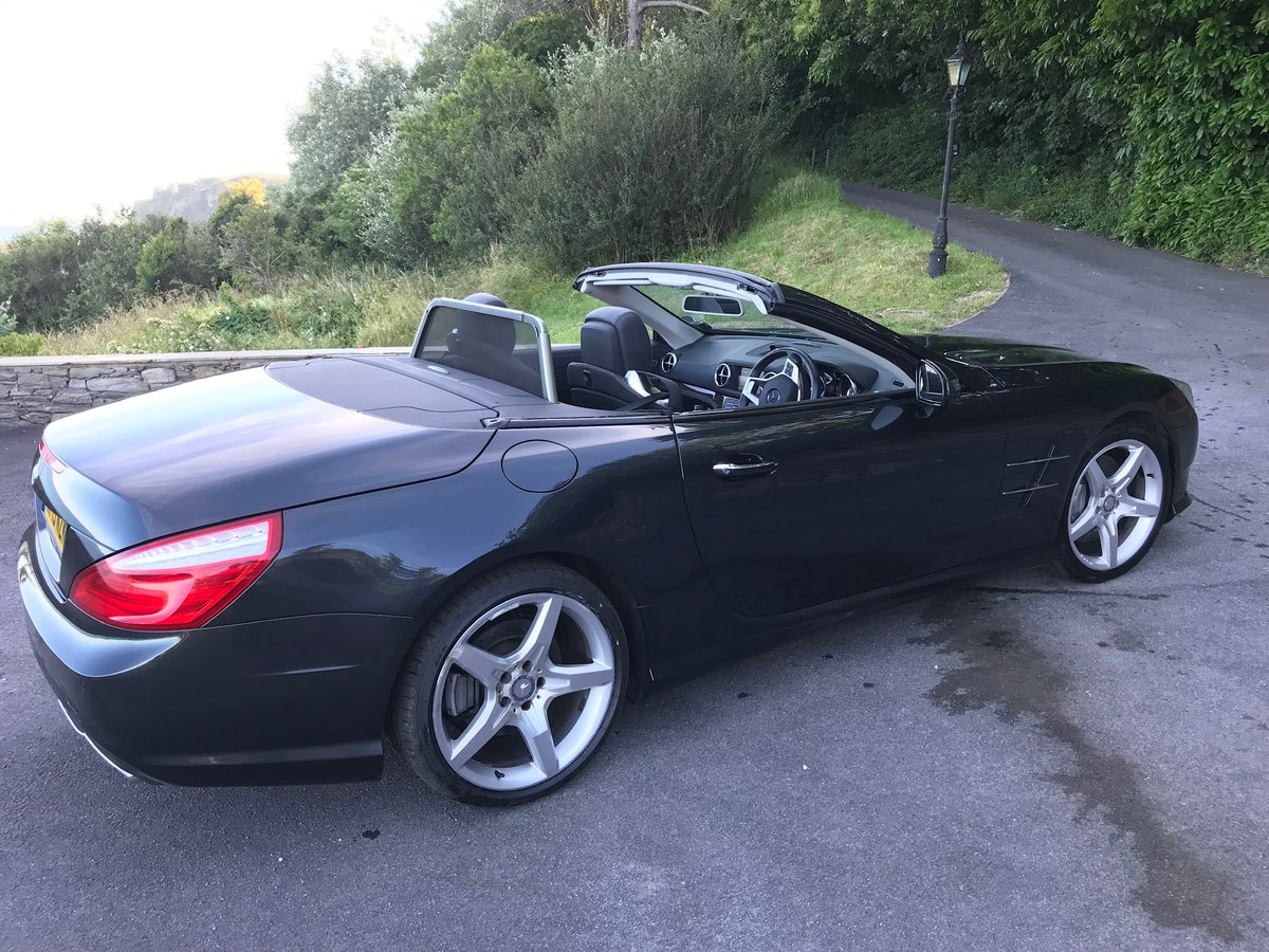 2013 SL500 V8 in superb condition SOLD (picture 4 of 6)