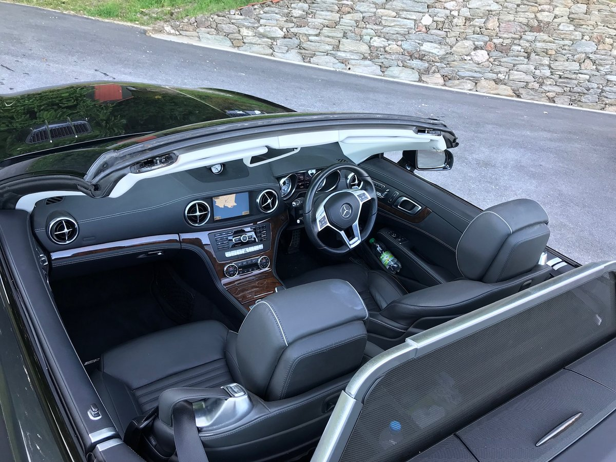 2013 SL500 V8 in superb condition SOLD (picture 5 of 6)