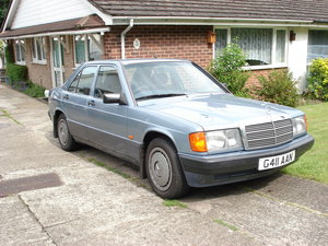 1989 Mercedes 190 Series smashing For Sale
