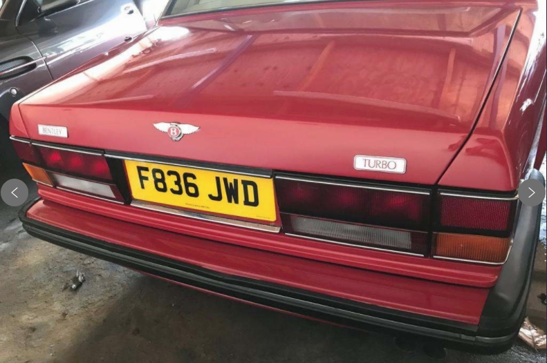 1988 Bentley Turbo R 6.8 litre For Sale (picture 3 of 6)