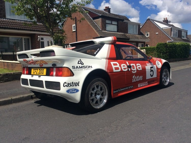 1986 Ford rs 200 cosworth must see may take px SOLD (picture 1 of 6)