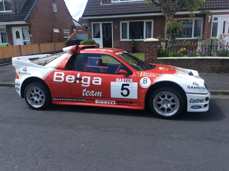 1986 Ford rs 200 cosworth must see may take px SOLD (picture 2 of 6)