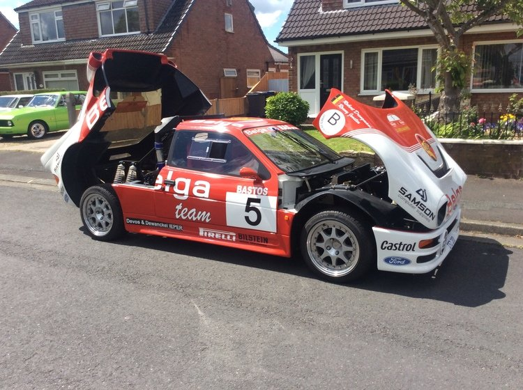1986 Ford rs 200 cosworth must see may take px SOLD (picture 4 of 6)