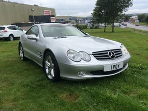 2002 Mercedes-benz sl 5.0 sl500 2d auto 306 bhp For Sale