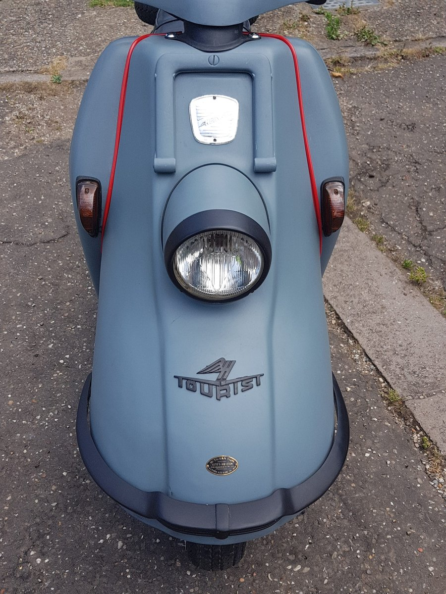 1965 Heinkel Tourist scooter Classic  SOLD (picture 3 of 6)