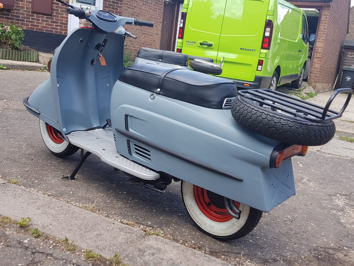1965 Heinkel Tourist scooter Classic  SOLD (picture 6 of 6)