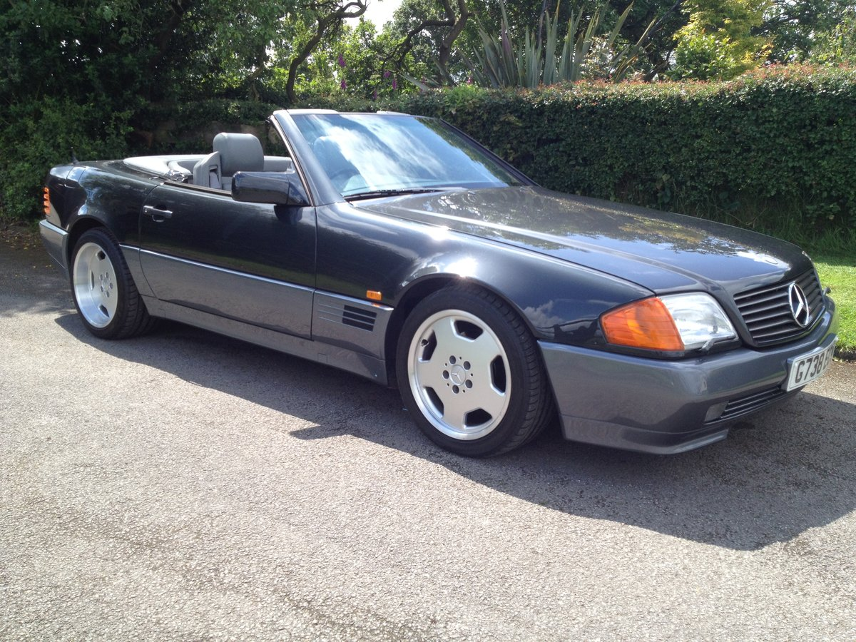 Mercedes 500 sl-1990 my-extensive history SOLD (picture 1 of 6)