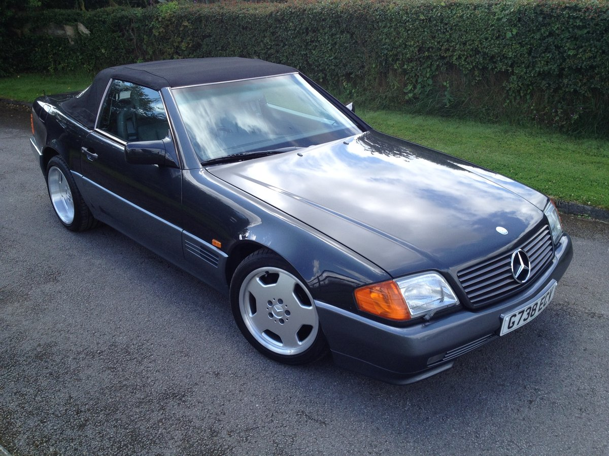 Mercedes 500 sl-1990 my-extensive history SOLD (picture 2 of 6)