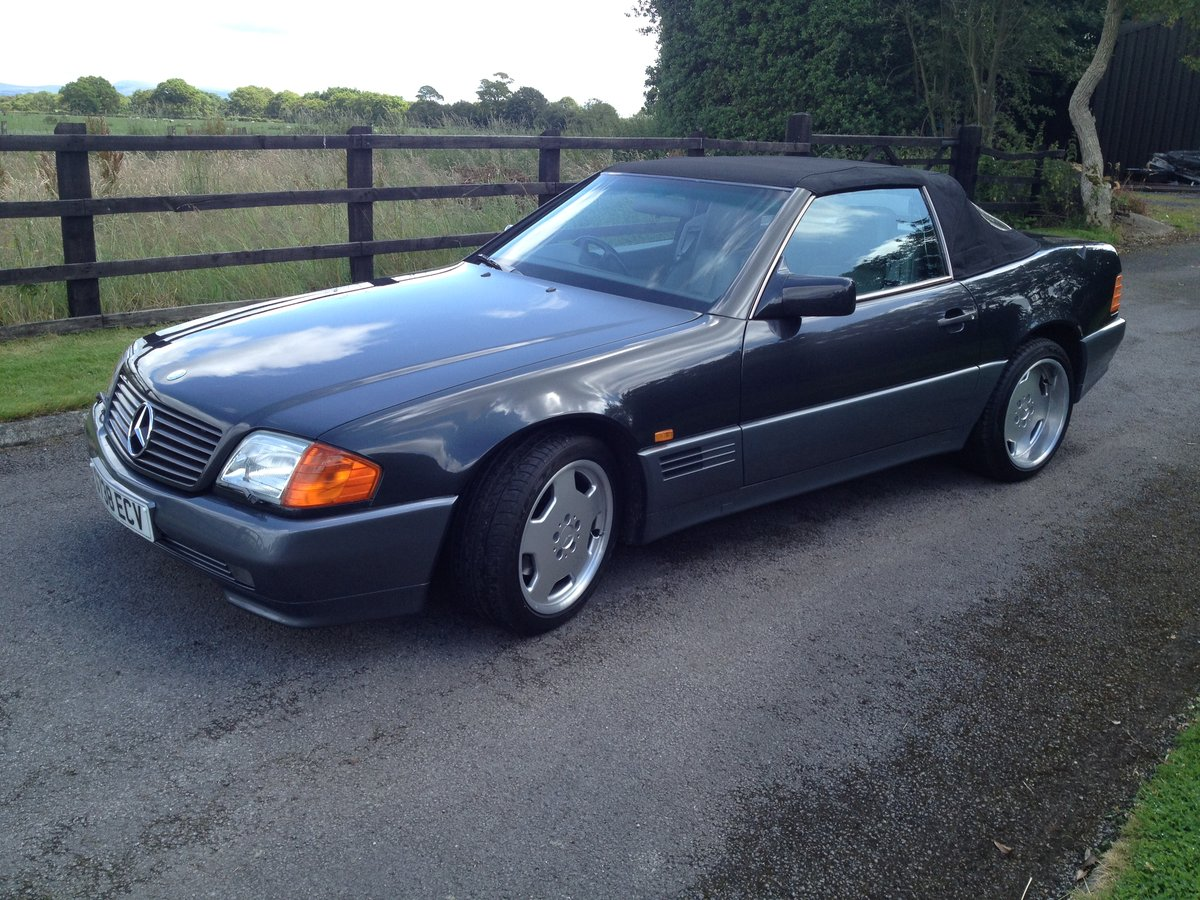 Mercedes 500 sl-1990 my-extensive history SOLD (picture 5 of 6)