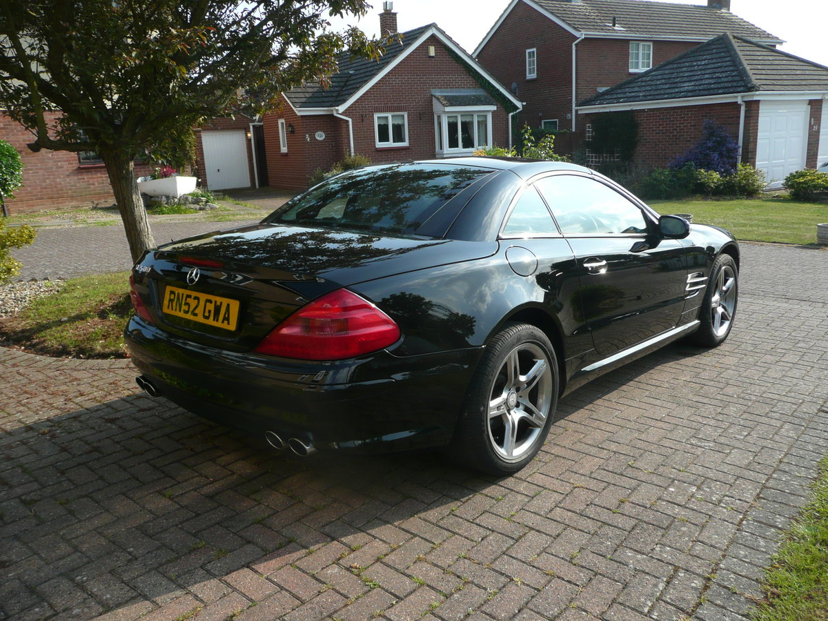2002 Mercedes SL500 with AMG trim For Sale (picture 6 of 6)