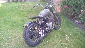 1954 Bsa rat bobber For Sale