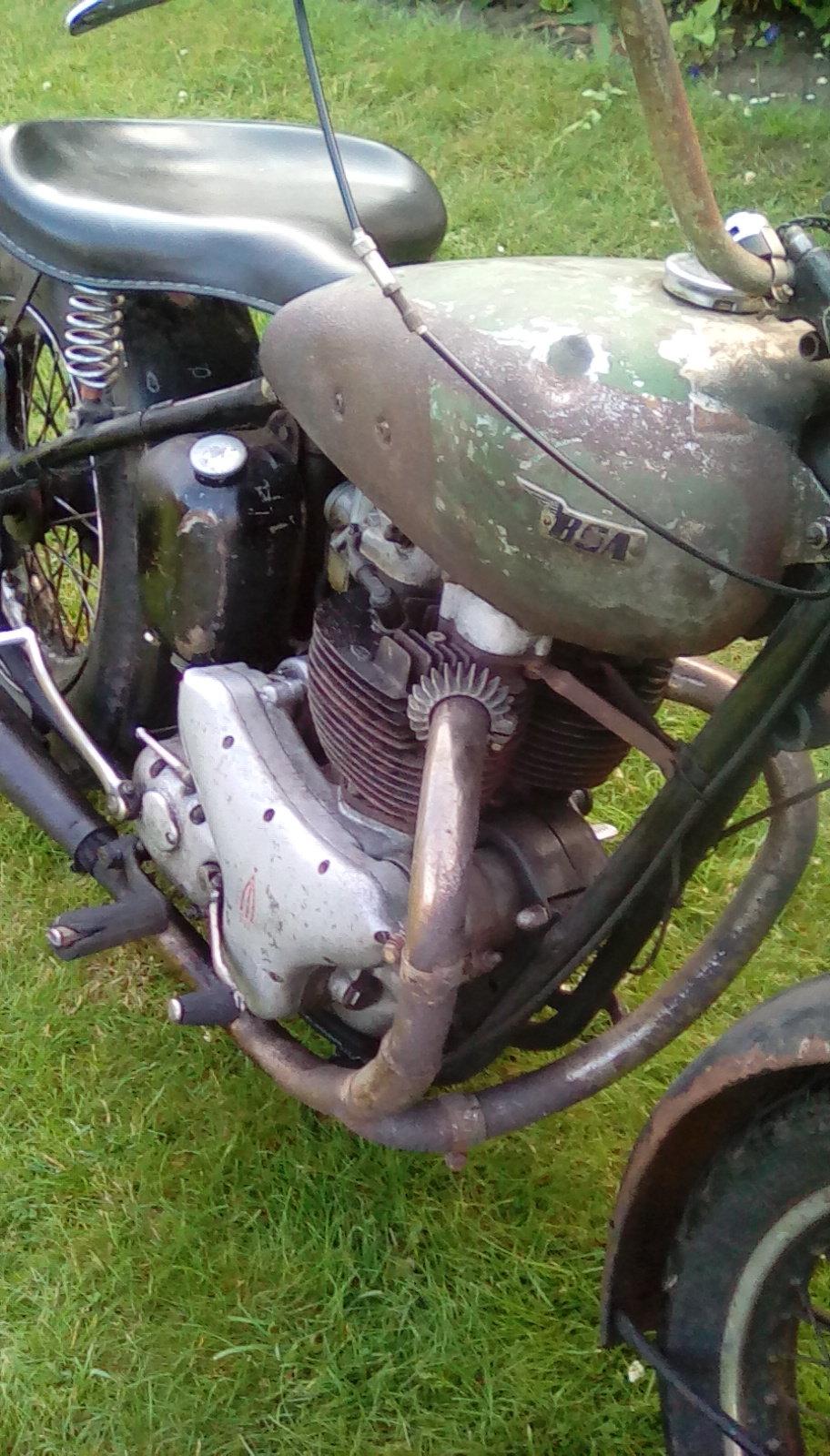 1954 Bsa rat bobber For Sale (picture 4 of 6)