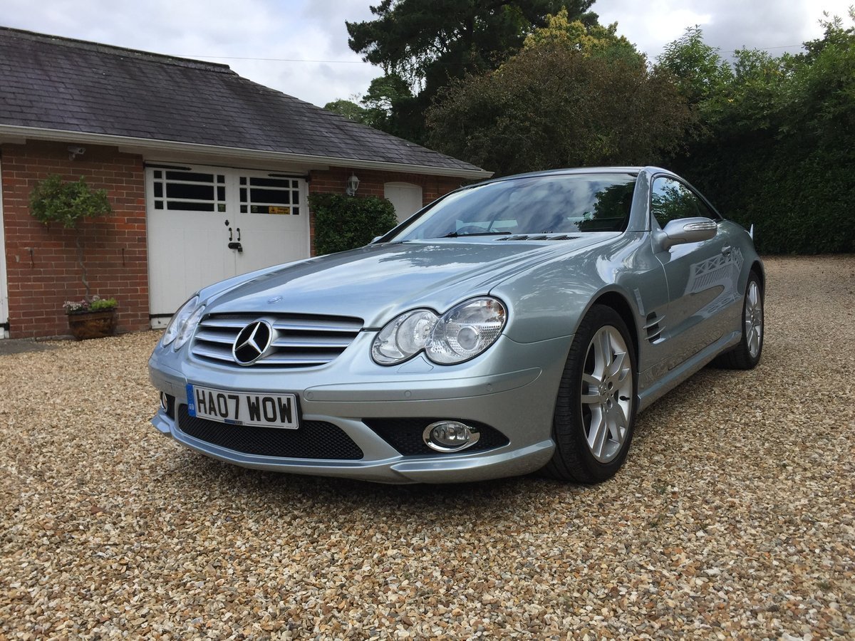 Mercedes SL AMG body kit factory fitted 2007 For Sale (picture 2 of 6)