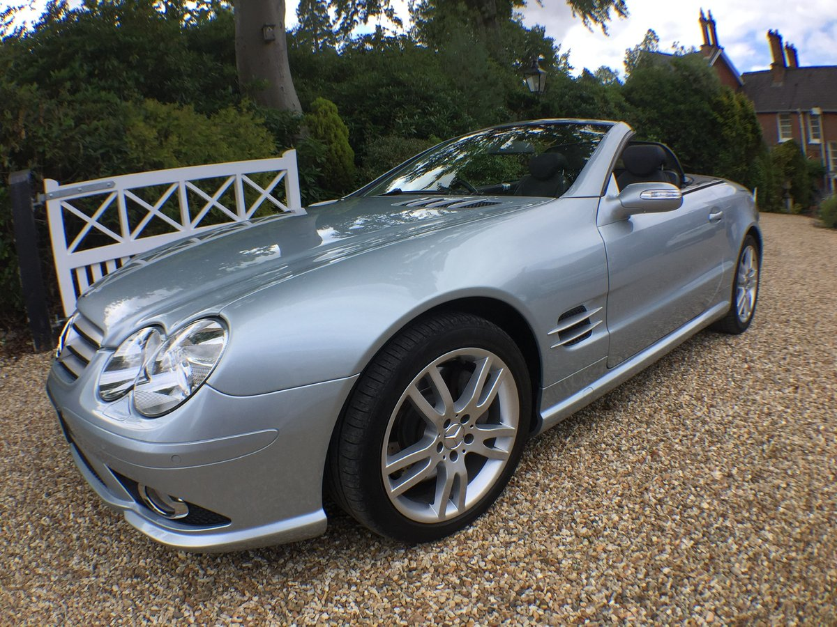 Mercedes SL AMG body kit factory fitted 2007 For Sale (picture 5 of 6)