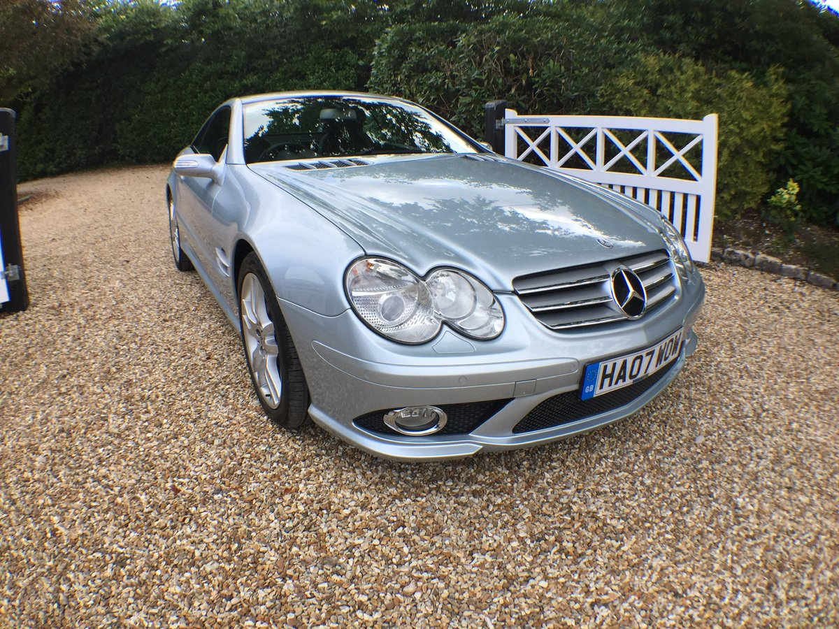 Mercedes SL AMG body kit factory fitted 2007 For Sale (picture 6 of 6)