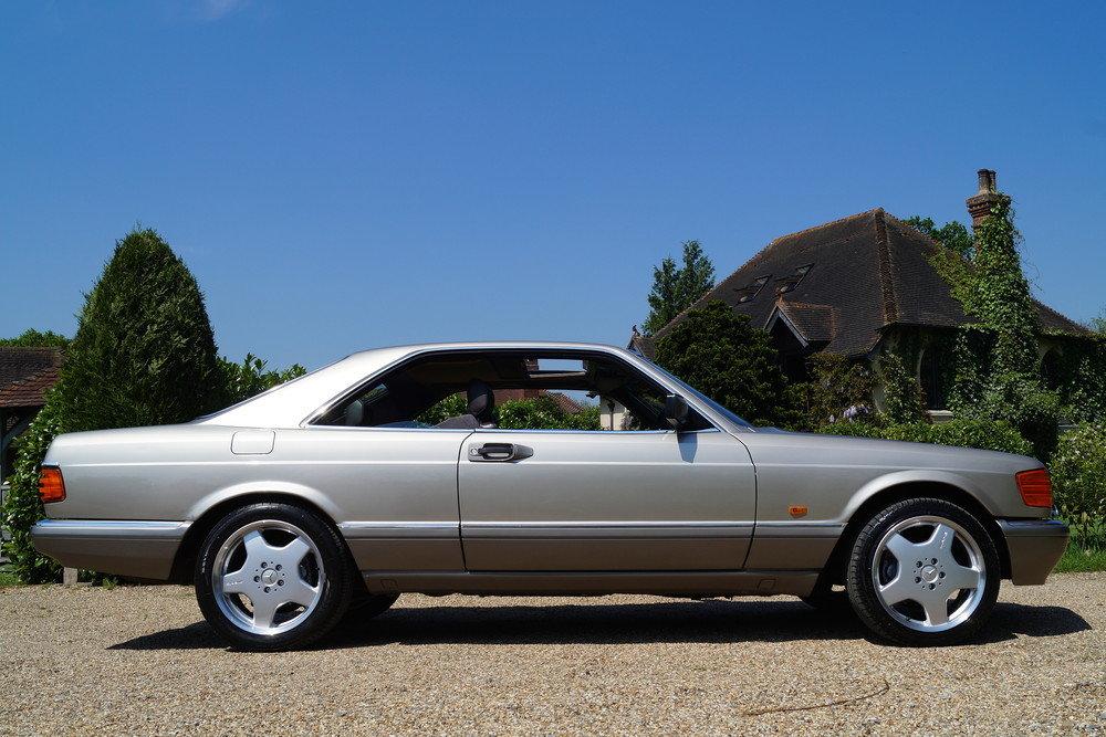 MERCEDES 500 SEC 1989 RARE 1 PREVIOUS For Sale (picture 1 of 6)