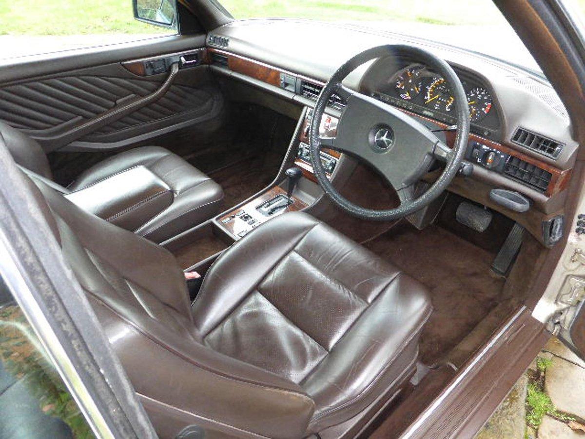 MERCEDES 500 SEC 1989 RARE 1 PREVIOUS For Sale (picture 4 of 6)