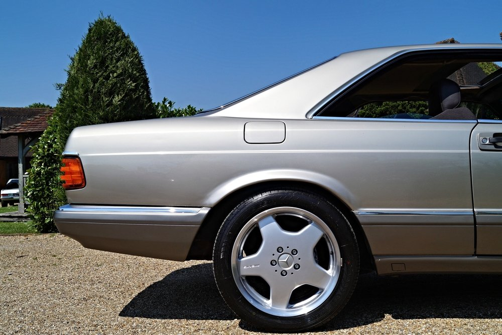 MERCEDES 500 SEC 1989 RARE 1 PREVIOUS For Sale (picture 5 of 6)