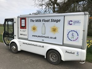 2005 Guinness World Record Q Electric Milk Float