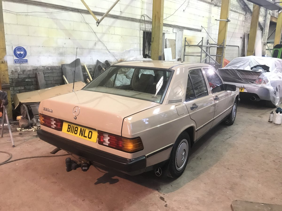 1985 mercedes 190d.2.0 1 of 3 on the road,low mile For Sale (picture 2 of 4)