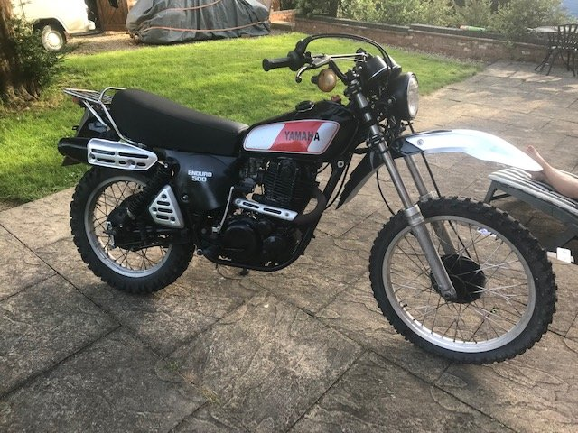 Yamaha XT500 1980 matching numbers For Sale (picture 1 of 6)